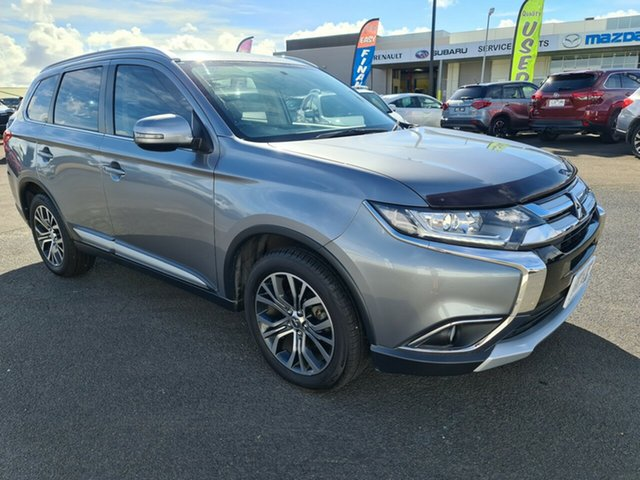 Used Mitsubishi Outlander ZJ MY14.5 LS 2WD Warrnambool East, 2015 Mitsubishi Outlander ZJ MY14.5 LS 2WD Grey 6 Speed Constant Variable Wagon