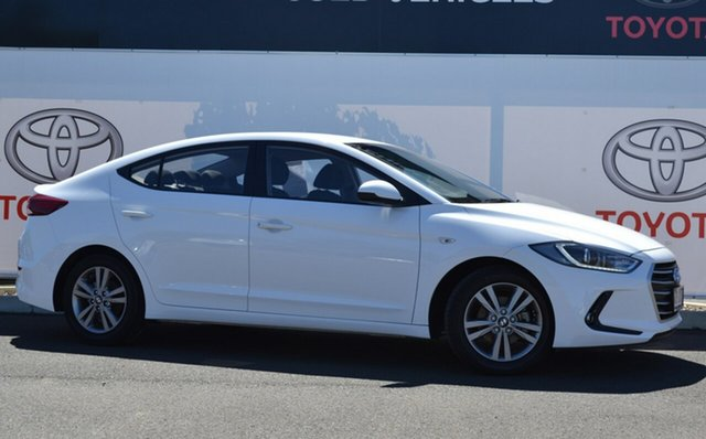 Pre-Owned Hyundai Elantra AD MY18 Active 2.0 MPI Warwick, 2018 Hyundai Elantra AD MY18 Active 2.0 MPI White 6 Speed Automatic Sedan
