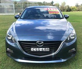 2014 Mazda 3 BM5478 Maxx SKYACTIV-Drive Blue 6 Speed Sports Automatic Hatchback.