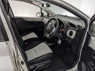 2013 Toyota Yaris NCP131R YRS Silver 4 Speed Automatic Hatchback