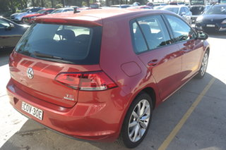 2013 Volkswagen Golf VII 103TSI DSG Highline Red 7 Speed Sports Automatic Dual Clutch Hatchback