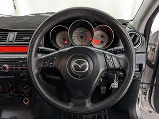2006 Mazda 3 BK10F2 Maxx Sport Silver 5 Speed Manual Sedan