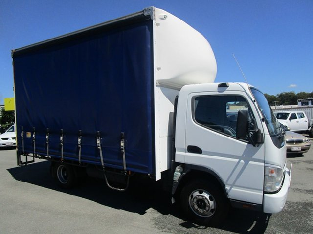 Used Mitsubishi Fuso Kedron, 2009 Mitsubishi Fuso PANTEC White Truck