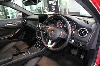 2018 Mercedes-Benz GLA-Class X156 809+059MY GLA180 DCT Red 7 Speed Sports Automatic Dual Clutch.