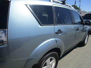 2007 Mitsubishi Outlander ZG MY07 VR Blue 6 Speed Sports Automatic Wagon
