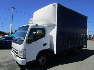 2009 Mitsubishi Fuso PANTEC White Truck.