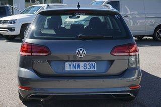 2018 Volkswagen Golf 7.5 MY18 110TSI DSG Comfortline Grey 7 Speed Sports Automatic Dual Clutch Wagon