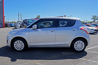 2014 Suzuki Swift FZ MY14 GL Silver 5 Speed Manual Hatchback