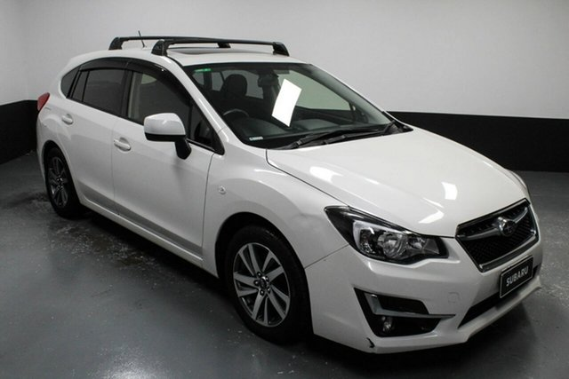 Used Subaru Impreza G5 MY17 2.0i-L CVT AWD Cardiff, 2016 Subaru Impreza G5 MY17 2.0i-L CVT AWD White 7 Speed Constant Variable Hatchback