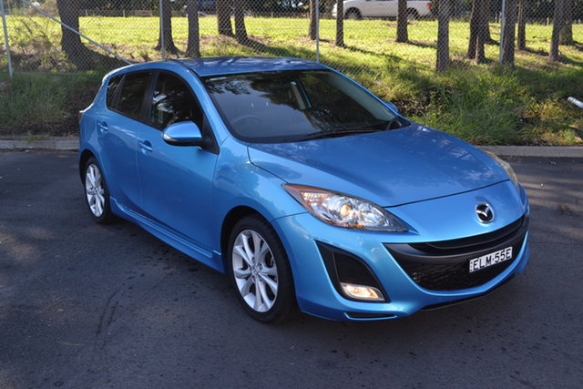 Used Mazda 3 BL10L1 SP25 Maitland, 2009 Mazda 3 BL10L1 SP25 Blue 6 Speed Manual Hatchback