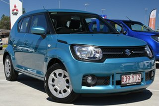 2018 Suzuki Ignis MF GL Teal 1 Speed Constant Variable Hatchback.
