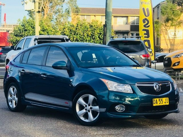 Used Holden Cruze JH Series II MY12 SRi Liverpool, 2011 Holden Cruze JH Series II MY12 SRi Blue 6 Speed Sports Automatic Hatchback
