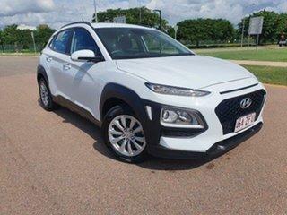2019 Hyundai Kona OS.3 MY20 Go D-CT AWD White 7 Speed Sports Automatic Dual Clutch Wagon.