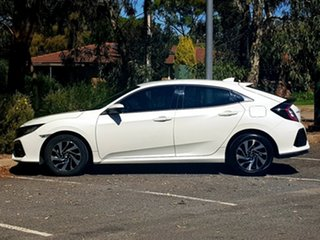 2017 Honda Civic 10th Gen MY17 VTi-S White 1 Speed Constant Variable Hatchback