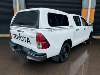 2016 Toyota Hilux TGN121R Workmate Double Cab 4x2 White 5 Speed Manual Utility