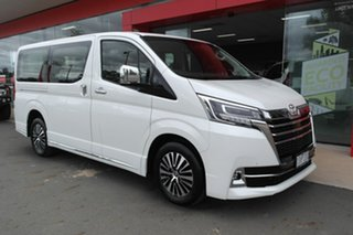 2019 Toyota Granvia GDH303R VX White 6 Speed Sports Automatic Wagon.