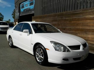 2004 Mitsubishi Magna TL VR AWD White 5 Speed Sports Automatic Sedan.