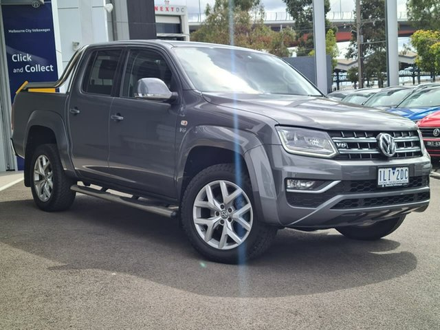 Used Volkswagen Amarok Port Melbourne, 2018 Volkswagen Amarok ULIMATE Grey Automatic DC/CHASSIS