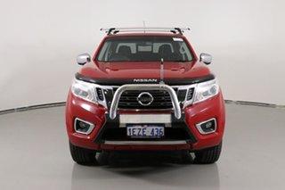 2015 Nissan Navara NP300 D23 ST (4x4) Red 7 Speed Automatic Dual Cab Utility.