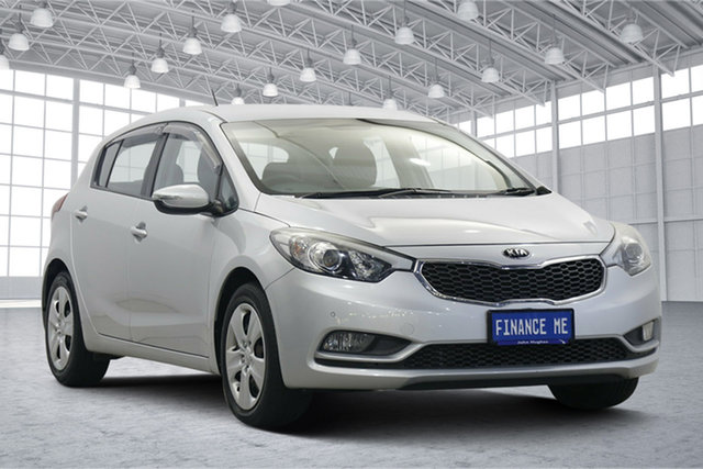 Used Kia Cerato YD MY15 S Victoria Park, 2015 Kia Cerato YD MY15 S Silky Silver 6 Speed Sports Automatic Hatchback
