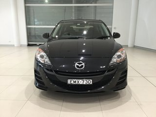 2009 Mazda 3 BL10F1 Maxx Black 6 Speed Manual Hatchback