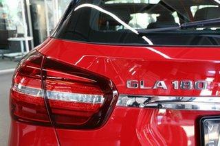 2018 Mercedes-Benz GLA-Class X156 809+059MY GLA180 DCT Red 7 Speed Sports Automatic Dual Clutch