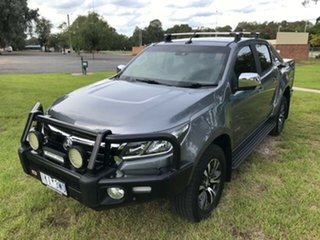 2017 Holden Colorado RG MY17 LTZ (4x4) Grey 6 Speed Automatic Crew Cab Pickup.