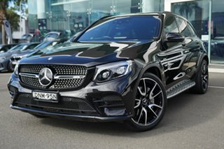 2017 Mercedes-AMG GLC43 253 MY17 Obsidian Black 9 Speed Automatic G-Tronic Wagon.
