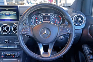 2015 Mercedes-Benz B-Class W246 B200 DCT Silver 7 Speed Sports Automatic Dual Clutch Hatchback