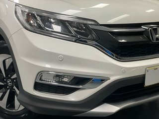 2016 Honda CR-V RM Series II MY17 Limited Edition 4WD White Pearl 5 Speed Sports Automatic Wagon.