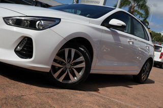 2020 Hyundai i30 PD2 MY20 Active White 6 Speed Automatic Hatchback.