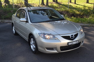2007 Mazda 3 BK10F2 Maxx Gold 4 Speed Sports Automatic Sedan