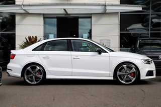 2019 Audi S3 8V MY20 S Tronic Quattro White 7 Speed Sports Automatic Dual Clutch Sedan.