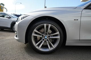 2014 BMW 328i F30 MY14 Upgrade Sport Line Glacier Silver 8 Speed Automatic Sedan.