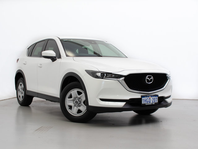 Used Mazda CX-5 MY17.5 (KF Series 2) Maxx (4x2), 2017 Mazda CX-5 MY17.5 (KF Series 2) Maxx (4x2) White 6 Speed Automatic Wagon