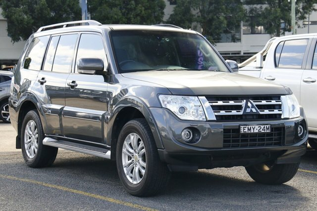 Used Mitsubishi Pajero NW MY14 VR-X Homebush, 2014 Mitsubishi Pajero NW MY14 VR-X Grey 5 Speed Sports Automatic Wagon