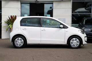 2013 Volkswagen UP! Type AA MY13 White 5 Speed Manual Hatchback.