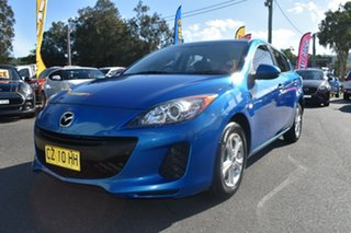 2013 Mazda 3 BM5478 Neo SKYACTIV-Drive Blue 6 Speed Sports Automatic Hatchback