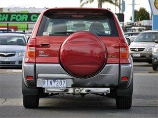 2001 Toyota RAV4 ACA21R Cruiser Red Automatic Wagon