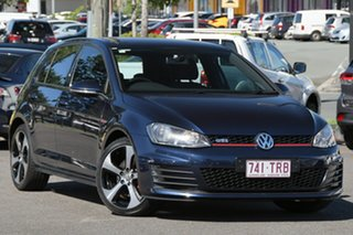 2013 Volkswagen Golf VII MY14 GTI DSG Blue 6 Speed Sports Automatic Dual Clutch Hatchback.