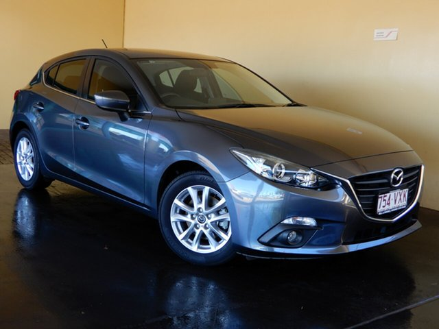 Used Mazda 3 BM MY15 Maxx Toowoomba, 2015 Mazda 3 BM MY15 Maxx Grey 6 Speed Manual Hatchback