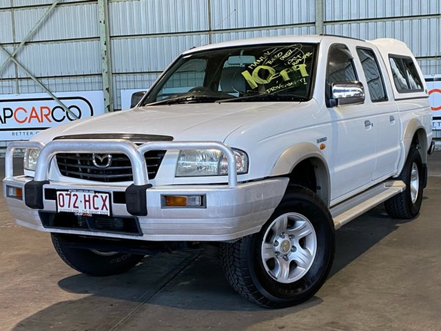 Used Mazda Bravo B2500 DX Rocklea, 2002 Mazda Bravo B2500 DX White 5 Speed Manual Utility