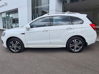 2016 Holden Captiva LTZ AWD White Automatic Wagon