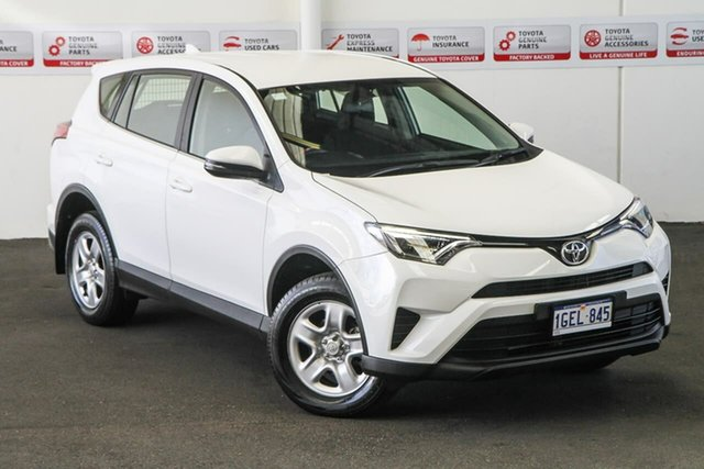 Pre-Owned Toyota RAV4 ZSA42R MY17 GX (2WD) Myaree, 2016 Toyota RAV4 ZSA42R MY17 GX (2WD) Glacier White Continuous Variable Wagon