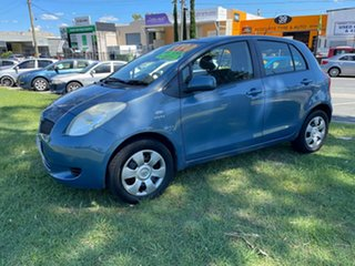 2008 Toyota Yaris NCP91R MY09 YRS Blue 5 Speed Manual Hatchback