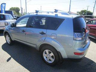 2007 Mitsubishi Outlander ZG MY07 VR Blue 6 Speed Sports Automatic Wagon.