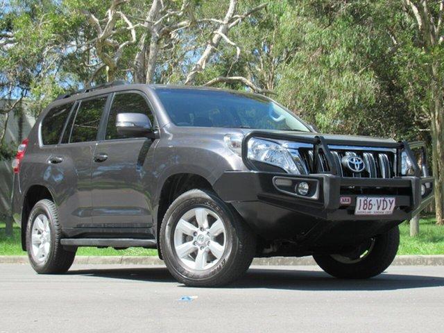 Used Toyota Landcruiser Prado KDJ150R MY14 GXL, 2014 Toyota Landcruiser Prado KDJ150R MY14 GXL Grey 6 Speed Manual Wagon