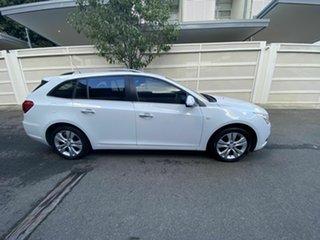 2015 Holden Cruze JH Series II MY15 CDX Sportwagon White 6 Speed Sports Automatic Wagon.