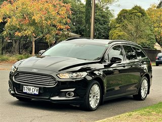 2016 Ford Mondeo MD Trend Black 6 Speed Sports Automatic Hatchback.