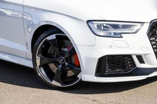 2018 Audi RS 3 8V MY18 S Tronic Quattro White 7 Speed Sports Automatic Dual Clutch Sedan
